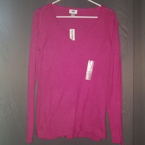 NWT Old Navy Sweater Hot Pink M